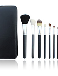 8pcs Contour Brush / Blush Brush / Eyeshadow Brush / Lip Brush / Eyeliner Brush / Powder Brush / Foundation Brush HorseProfessional /