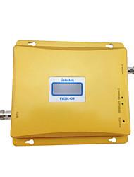 gsm lintratek repetidor 3g gsm 900mhz 2100mhz wcdma amplificador de señal celular amplificador de doble banda repetidor 2g 3g kit completo