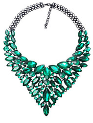 Necklace Non Stone Pendant Necklaces Jewelry Wedding / Party / Daily / Casual Pendant Alloy Women 1pc Gift Green