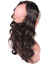 360 Lace Frontal With Bundles Malaysian Body Wave 3 Bundles With 360 Lace Frontal Closure Adjustable Elastic Straps
