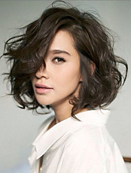 Popular Short Wavy Bob Hairstyle Full Lace & Lace Front Wig With Baby Hair