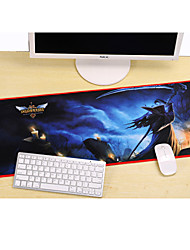 Professional Custom Computer Game League of Legends Karthus Gaming Mouse Pad Used for  Deskop And Laptop Computer 30x80x0.2cm