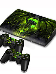 B-Skin® PS3 Slim 4000 Console Protective Sticker Cover Skin Controller Skin Sticker
