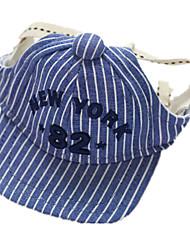 Cães Bandanas e Chapéus Azul Roupas para Cães Inverno / Primavera/Outono Carta e Número Casual