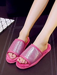 Women's Slippers & Flip-Flops Others Leatherette Casual Black / Blue / Brown / Pink / Purple / Gold