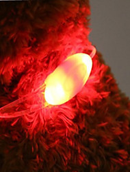 Collar LED Lights Batteries Included Novelty Plastic Red Green Blue Blushing Pink