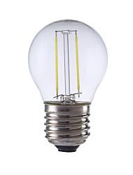 2W E26/E27 LED Glühlampen P45 2 COB 250 lm Warmes Weiß / Kühles Weiß AC 220-240 V 1 Stück