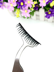 Put A False Eyelash Aid Novice Essential Multi-functional Eyelash Tweezers  1Pcs