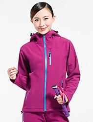 Women Outdoor Sports Soft Shell Fleece Jacket Hiking Cimbing Clothing Jackets Spring Autumn Casual Jacket Waterproof Coat  Fashion Overcoat