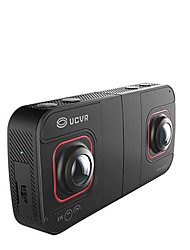 UCVR Wide Angle Double Camera Foldable Virtual Reality Camcorder 4K Image 1080P Video Camera with WiFi Transmission