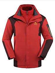 Wandern Ski/Snowboard Jacken / Windjacken / Softshell Jacken / Oberteile Herrn Wasserdicht / warm halten / WindundurchlässigFrühling /