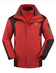Men's Ski/Snowboard Jackets Windbreakers Softshell Jacket Tops Camping / Hiking Fishing Downhill Team SportsWaterproof Thermal / Warm