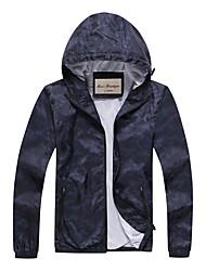 Men's Long Sleeve Running Jacket Sweatshirt Breathable Quick Dry Windproof Lightweight Materials Comfortable Spring Summer Fall/Autumn