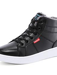 Femme-Décontracté-Noir / Bleu / KakiConfort-Sneakers-Similicuir