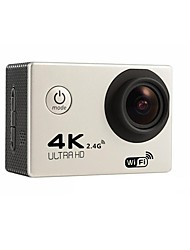 F60R Action Kamera / Sport-Kamera 16MP 4000 x 3000 Wifi / Wasserdicht / Einstellbar / Kabellos 30fps 6X ± 2 EV 2 CMOS 32 GB H.264