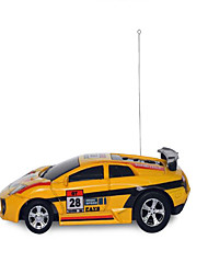 Car Racing 9803 1:12 Brushless Electric RC Car 30km/h 2.4G Yellow Ready-To-Go Remote Control Car / USB Cable / User Manual