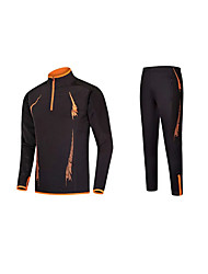 Running Tops / Bottoms Men's Long Sleeve Comfortable Polyester Taekwondo / Fishing / Exercise & Fitness / Leisure Sports / Running Sports