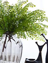 """1  Branch 1 Ramo Gel Silica / Toque real Plantas Flor de Mesa Flores artificiais Total Length:18"""""""