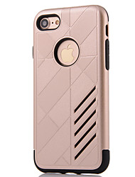 Pro iPhone 8 iPhone 8 Plus iPhone 7 iPhone 6 Pouzdro iPhone 5 Pouzdra a obaly Voda / Dirt / Otřesuvzdorný Zadní kryt Carcasă Brnění Pevné