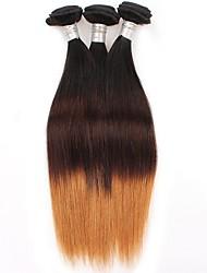 Tónované Brazilské vlasy Proste 6 měsíců 3 kusy Vazby na vlasy