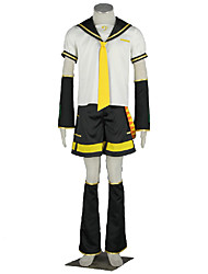 Vocaloid Hatsune Miku Anime Cosplay Costumes Top / Shorts / Tie / Sleeves / Belt / More Accessories Kid