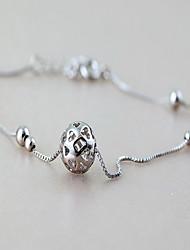 femme en argent sterling silver homard circulaire fermoir cheville