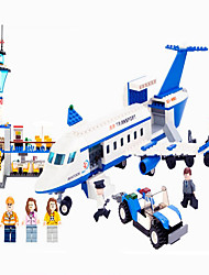 Action Figures & Stuffed Animals / Building Blocks For Gift  Building Blocks Model & Building Toy Aircraft / Machine ABS5 to 7 Years / 8 652PCS
