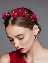 Women's Rhinestone / Alloy Headpiece-Wedding / Special Occasion / Casual / OutdoorFlowers / Head Chain / Hair Pin / Hair Stick / Hair