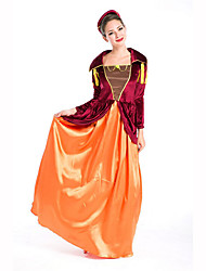 Court Costume Festival/Holiday Costumes  Dress / Headwear Female Polyester