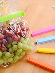 5 PCS/lot Large Food Snack Bag Storage Sealing Clips Plastic Bags Ziplock Clip (Random Color)