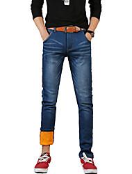 Hommes Grandes Tailles Droite / Mince Jeans / Chino Pantalon,Vintage / simple / Street Chic Sortie / Décontracté / Quotidien / Soirée