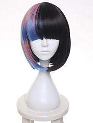 Melanie Martinez Gradient  BOBO Hair Short Straight Cosplay Wig Heat Resistance Fiber