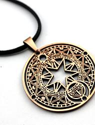 Mehre Accessoires Inspiriert von Cardcaptor Sakura Cosplay Anime Cosplay Accessoires Halsketten Rot / Gold / Silber Legierung