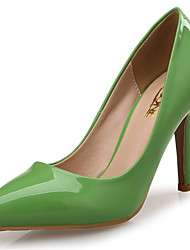 Women's Heels Others Leather Patent Leather Wedding Dress Party & Evening Stiletto Heel Others Green Red