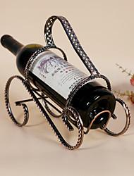 Garrafeira Ferro Fundido,23.5*11*20CM Vinho Acessórios