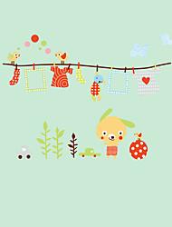 Cartoon Wall Stickers Laundry Wall Stickers Decorative Wall Stickers Kids Stickers,PVC Decals