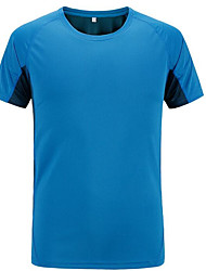 Women's T-shirt / Tops Exercise & Fitness / Racing / Leisure SportsBreathable / Quick Dry / Windproof / Ultraviolet Resistant /