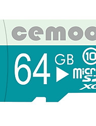 CEMOO Original Pastoralism Series 64GB Micro SD card Class 10  with SD SDHC Adapter and Multi-function OTG USB Card Reader