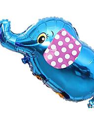 Balões Decoração Para Festas Elefante Azul Para Meninos / Para Meninas 2 a 4 Anos / 5 a 7 Anos / 8 a 13 Anos