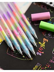 Dazzle Colour Color Fluorescent Pen(12PCS)