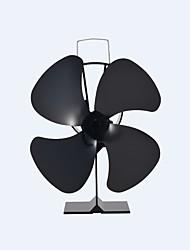 отдельно стоящий 4-лопастной тепло работает экологичный классическая плита вентилятор камин вентилятор 180 CFM макс