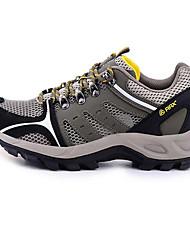 Tênis de Caminhada / Sapatos Casuais / Sapatos de Montanhismo Homens Anti-Escorregar / Anti-Shake / Anti-desgaste / Respirável Pele Real