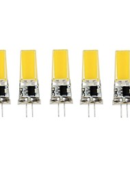 5Pcs G4 2805 Cob AC220 v 850 lm Warm White Natural White Double Needle Wate rproof Glue Lamp Other