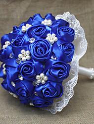 Свадебные цветы Круглый Розы Букеты Партия / Вечерняя Атлас 23 см