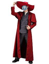 Inspirado por Jigoku Shojo Cosplay Animé Disfraces de cosplay Trajes Cosplay Un Color Negro / RojoAbrigo / Chaleco / Camisas / Pantalones