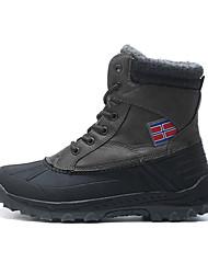 Men's Snow sports Mid-Calf Boots Winter Anti-Slip / Waterproof / Breathable Shoes Gray / Khaki / Black