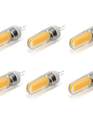 4W G4 LED à Double Broches T 1 COB 380 lm Blanc Chaud / Blanc Froid AC 100-240 V 6 pièces