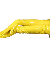 Gloves Ninja Zentai Cosplay Costumes Solid Gloves PVC Unisex Halloween Christmas