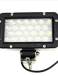 Liancheng® 7 inch 24W 9-32V High Brightness LED Work Light Flood 6000K for Off-road UTV ATV Boat Ship