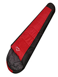 Sleeping Bag Mummy Bag Single 10 Hollow Cotton 650g 200X75 Camping / Traveling / IndoorWaterproof / Rain-Proof / Windproof /